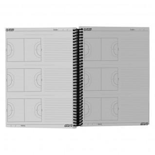 Cuaderno de entrenador de balonmano en espiral a4 Sporti France