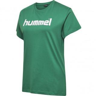 Camiseta de mujer Hummel Cotton Logo