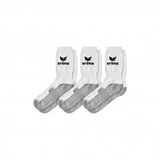 Juego de 3 pares de calcetines deportivos Erima