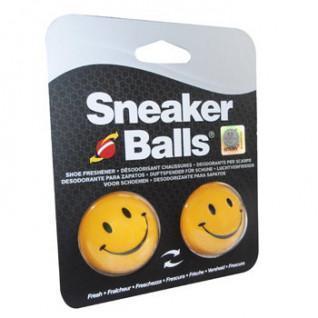 Paquete de 12 bolas desodorantes Happy Face Sneakerballs
