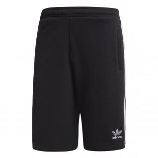 Pantalón corto adidas 3-Stripes Negro