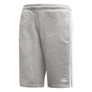 Pantalón corto adidas 3-Stripes gris
