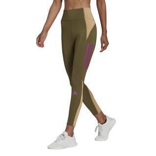 Legging para mujeres adidas Own The Run Block 7/8 Running