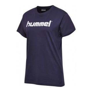 Camiseta de mujer Hummel go logo