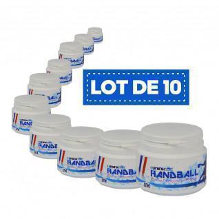 Paquete de 10 resinas blancas de alto rendimiento Sporti France - 100 ml