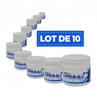 Paquete de 10 resinas blancas de alto rendimiento Sporti France - 500 ml