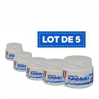 Juego de 5 resinas blancas de alto rendimiento Sporti France - 100 ml