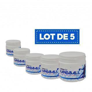 Juego de 5 resinas blancas de alto rendimiento Sporti France - 500 ml