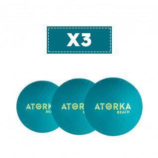 Juego de 3 balones de playa Atorka HB500B