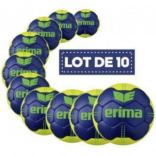 Paquete de 10 globos Erima Pure Grip N° 4
