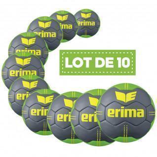 Paquete de 10 globos Erima Pure Grip N° 2 T2