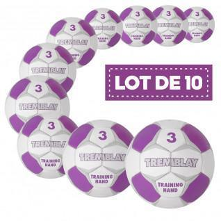 Paquete de 10 balones de entrenamiento Tremblay
