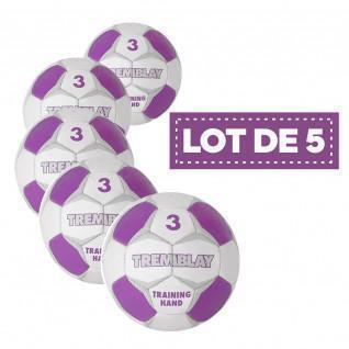 Juego de 5 balones de entrenamiento Tremblay